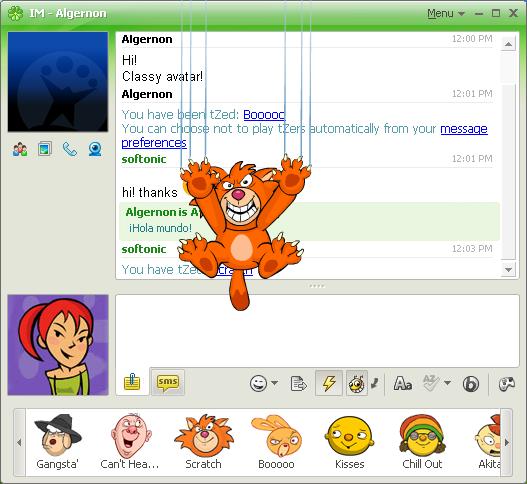 Screenshot von icq