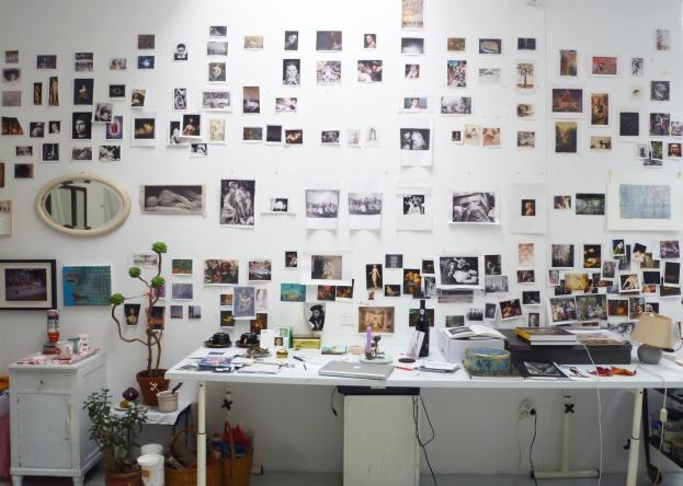 Atelier von Sibylle Springer