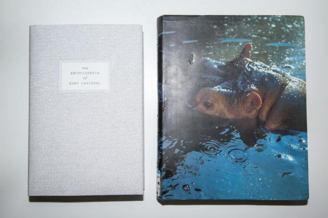 """Die Fotobücher """"The Encyclopedia of Kurt Caviezel"""" von Kurt Caviezel und Nicoló Degiorgis & """"Sichtbare Welt"""" von Peter Fischl und David Weiss"""