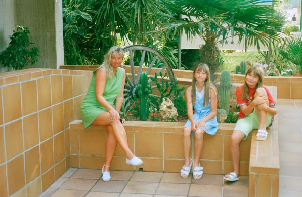 Ein Urlaubsfoto der Autorin. Wahrscheinlich von 1999.