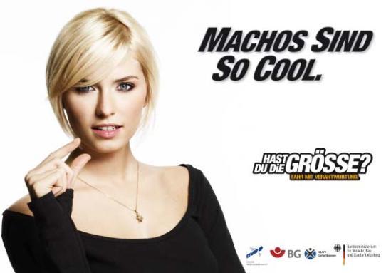 Werbeposter / Anti-Raser-Kampagne des DVR
