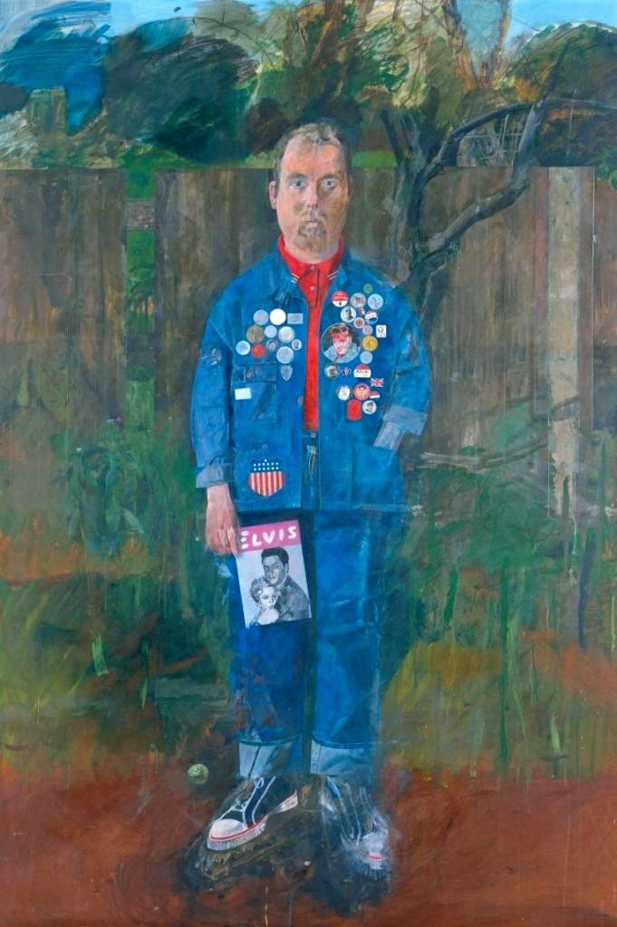 Peter Blake: Self-Portrait with Badges, 1961