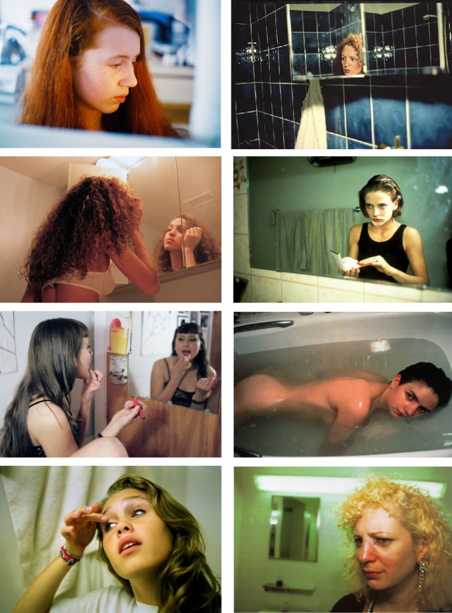 Links: Petra Collins; rechts: Nan Goldin.