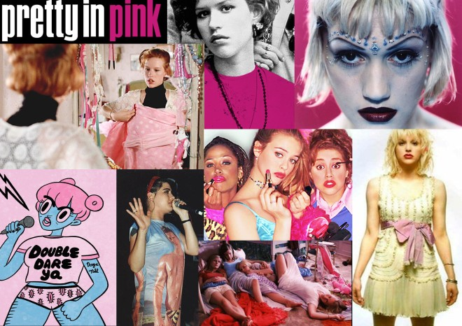 Die Riot Grrrls, Pretty in Pink, Clueless, Gwen Stefanie, Courtney Love, Virgin Suicide: Tavis Bildwelt