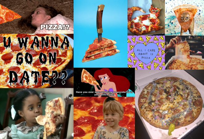 #weird, #crazy, #nerd: Pizza auf Tumblr.
