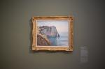 Monet: Steilküste von Aval, 1885