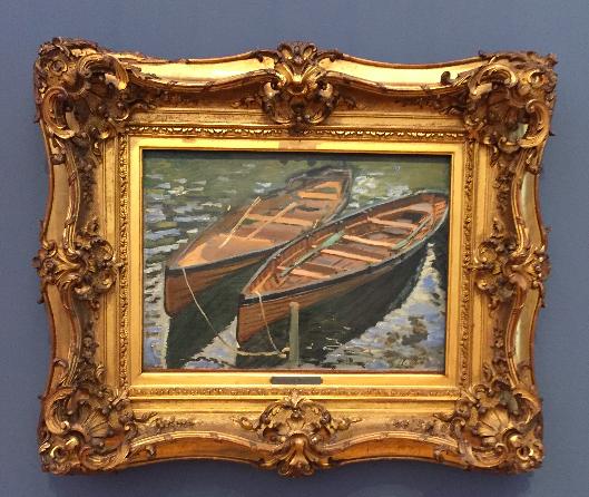 Opulente Rahmen um die Freilichtmalereien