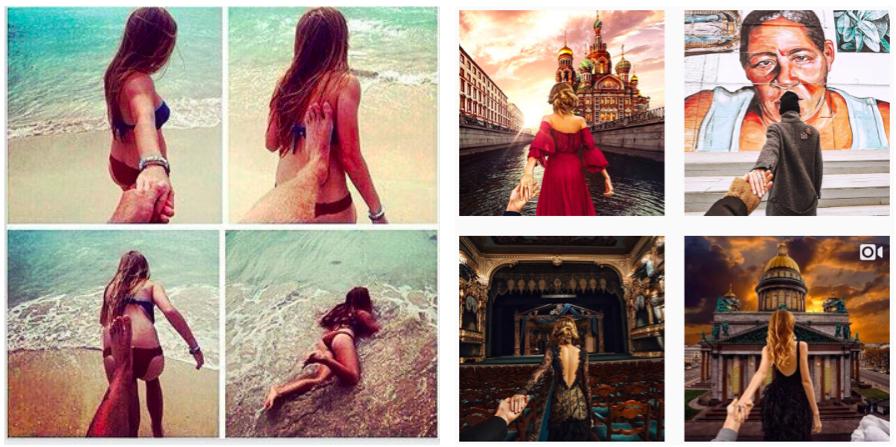 "Tilo Jungs ""lustige"" Anspielung (links) auf Murad Obmann's Instagram Account (rechts)"